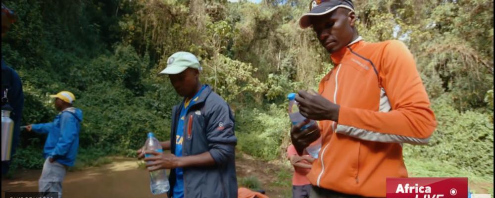 A la conquête du Kilimandjaro - CCTV