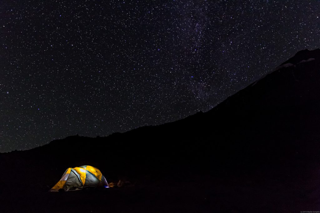 Kilimanjaro at night by Martin S