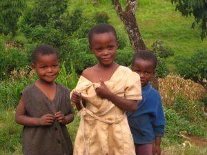 Chagga children by Van Grotenhuis