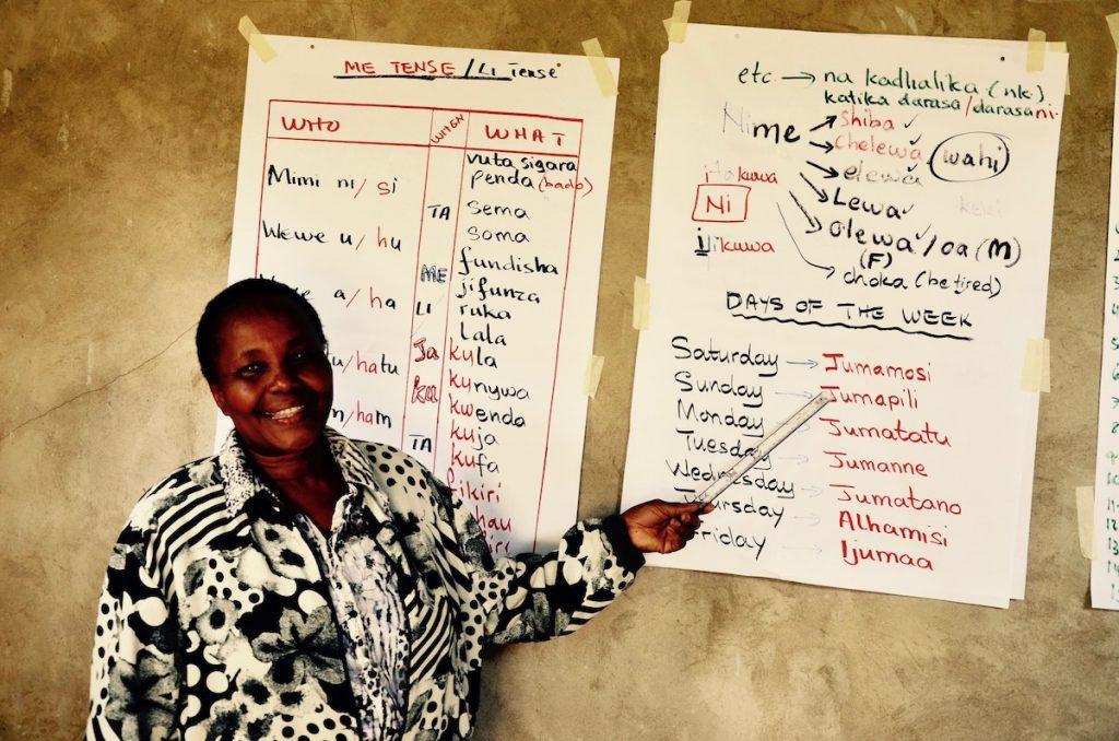 Swahili teacher